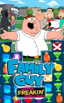 Jam City's Family Guy: Another Freakin' Mobile Game