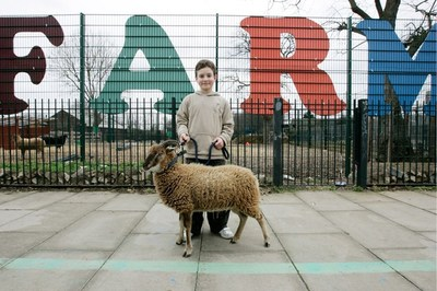 Spitalfield City Farm (PRNewsFoto/Timberland)