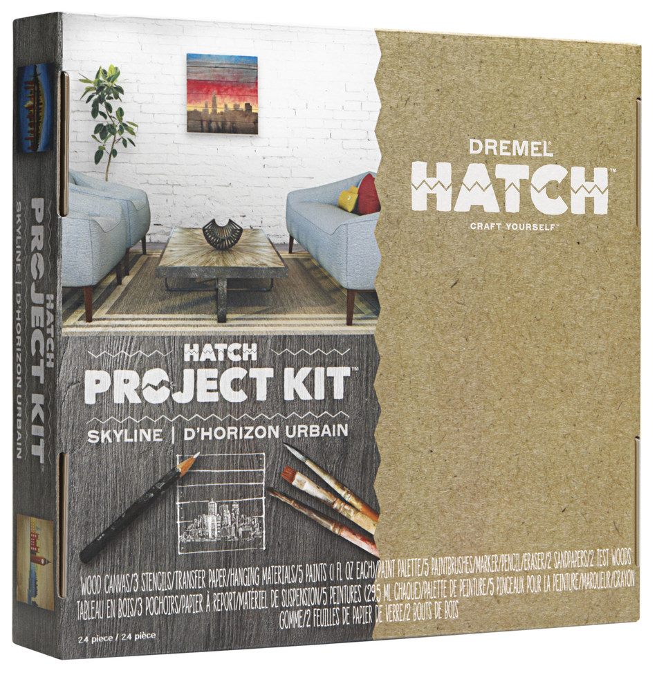 Dremel has developed a new Hatch Project Kit, an all-in-one project kit series that gives aspiring Creatives the tools and inspiration they need to hatch creativity on their own.