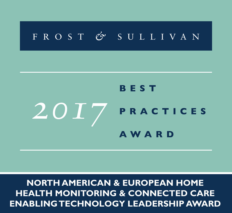eDevice Receives 2017 North American and Europen Home Health Monitoring and Connected Care Enabling Technology Leadership Award