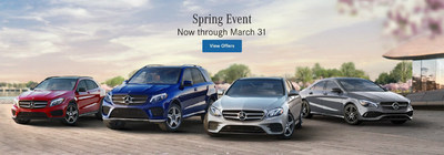 San Luis Obispo car shoppers can take advantage of specials on new Mercedes-Benz models with Alfano Motorcars.
