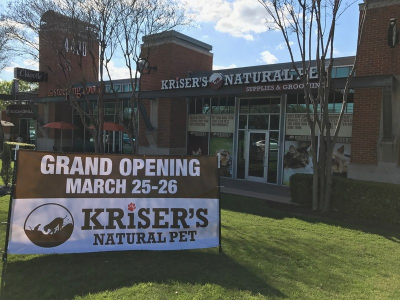 Kriser's Natural Pet new North Lamar, Austin TX store is opening this Saturday and Sunday!