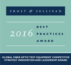 Viavi Solutions Recognized as the Global Market Leader in Fiber Optic Test Equipment by Frost & Sullivan