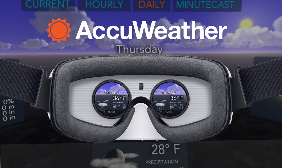 AccuWeather Samsung Gear VR Powered by Oculus