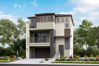 Calatlantic Homes Delivers Contemporary Tri-Level Living And Del Sur Amenities At Sur 33 In San Diego, Ca
