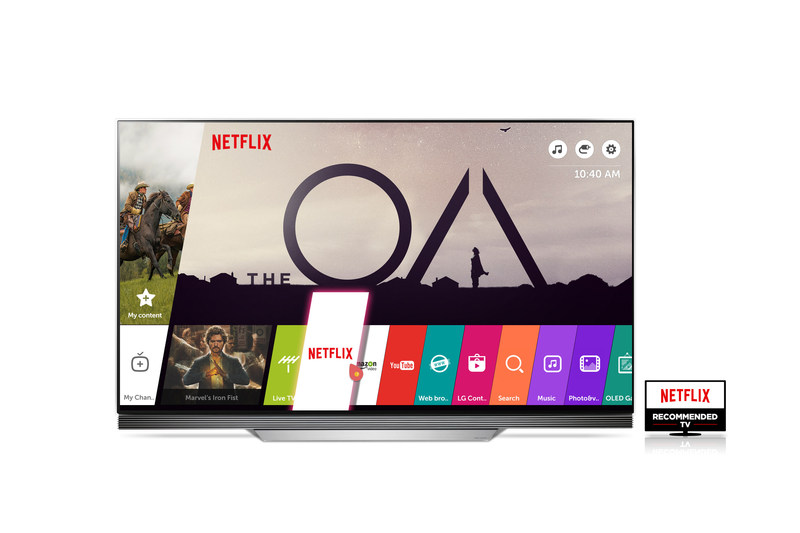 """LG Electronics' (LG) newest TV models have been designated """"Netflix Recommended TVs,"""" delivering excellent Netflix performance and a superb viewing experience."""