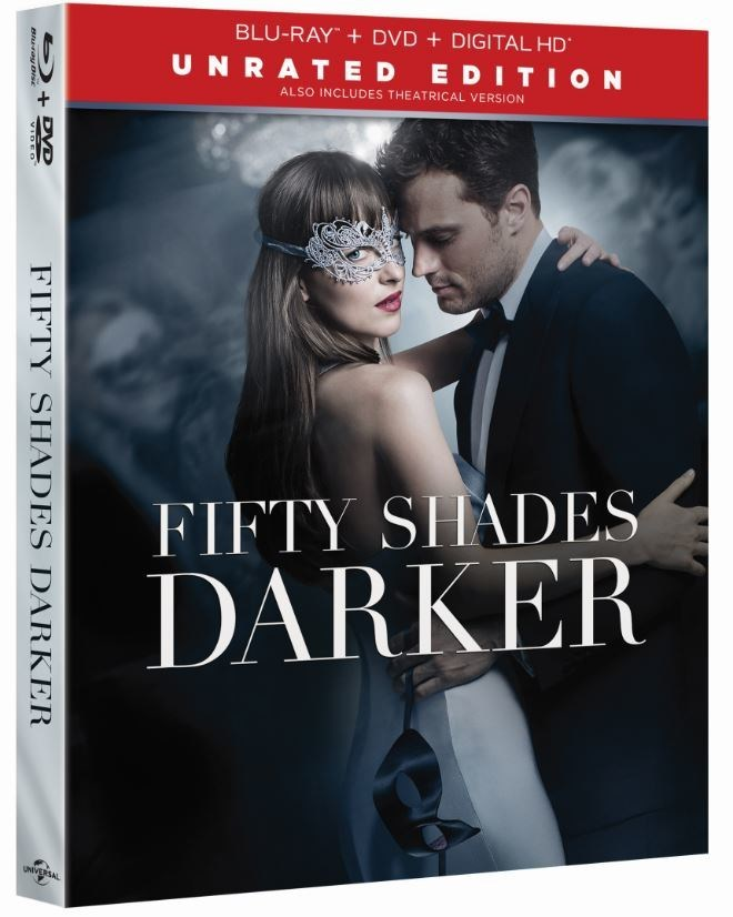 FROM UNIVERSAL PICTURES HOME ENTERTAINMENT: FIFTY SHADES DARKER