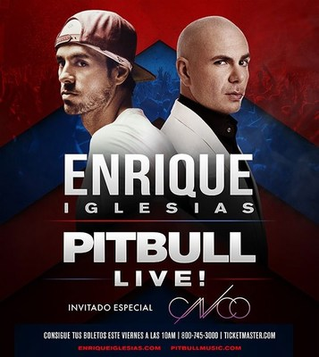 ¡Enrique Iglesias y Pitbull en Vivo Comparten el escenario en una gira conjunta de verano