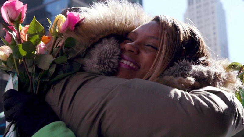 In celebration of International Day of Happiness, online floral gifting brand ProFlowers(R), surprised unsuspecting New Yorkers with the gift of 10,000 fresh flowers.