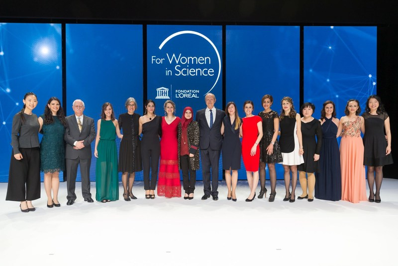 L'Oreal-UNESCO For Women in Science Awards Ceremony 2017 (PRNewsFoto/The L'Oreal Foundation)