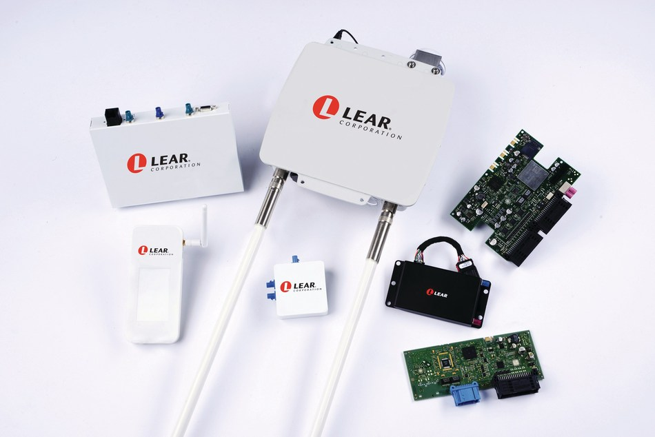 Key Lear Corporation Vehicle Connectivity Products