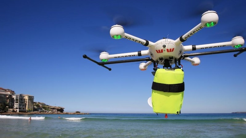 industrial drone, life-saving drone
