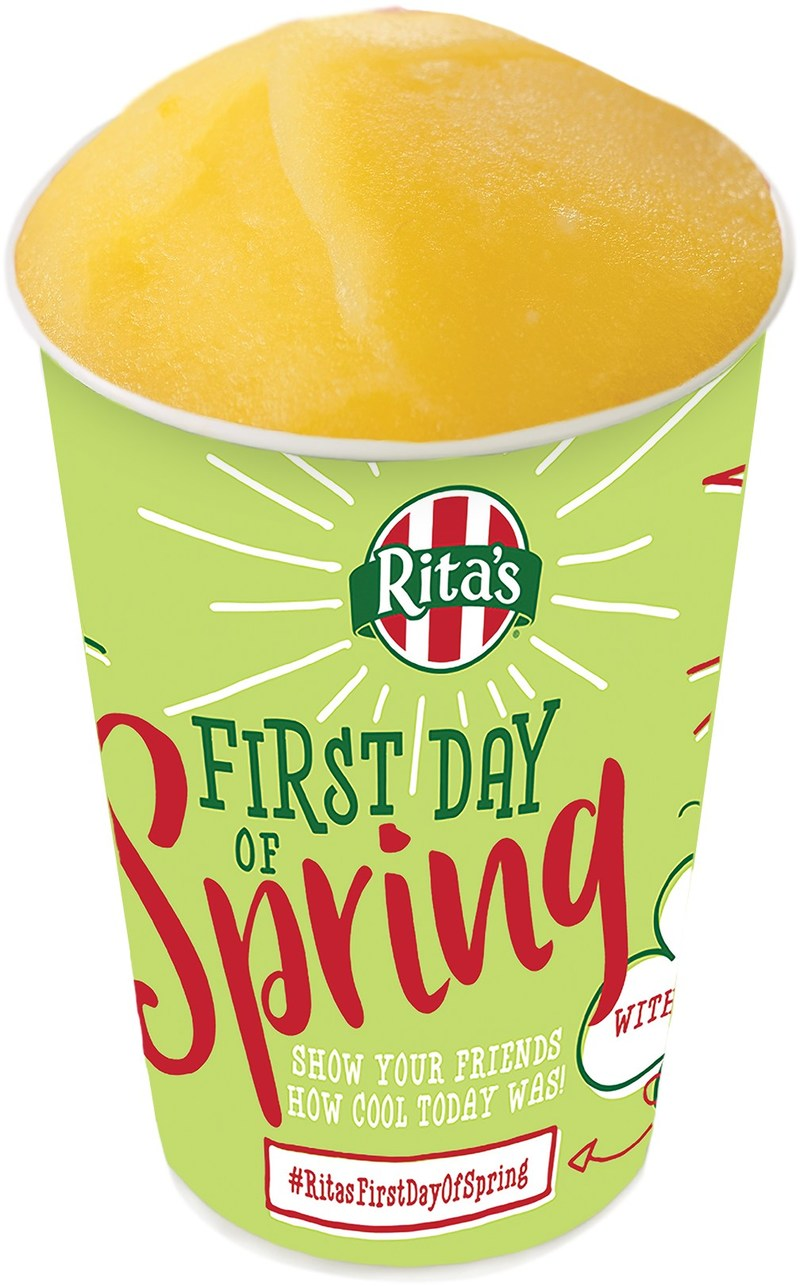 Rita's Italian Ice celebrates its 25th annual First Day of Spring Free Italian Ice Giveaway.