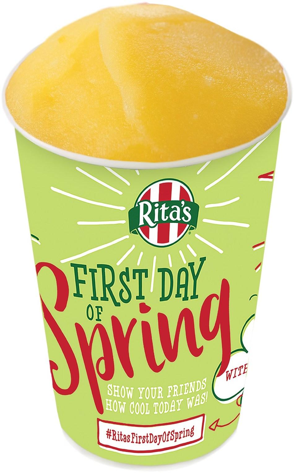 Rita's Italian Ice celebrates its 25th annual First Day of Spring Free Italian Ice Giveaway.