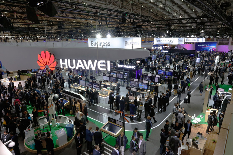 Huawei joined hands with 100 partners to exhibit at CeBIT 2017