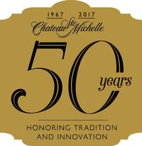 Chateau Ste. Michelle 50th Anniversary Logo