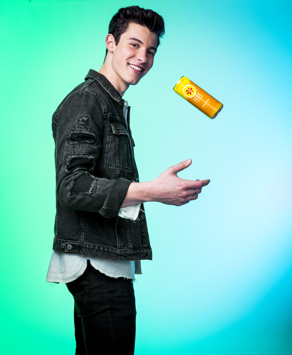 Shawn Mendes teams up with IZZE FUSIONS to host a celebration in New York City called Camp IZZE.