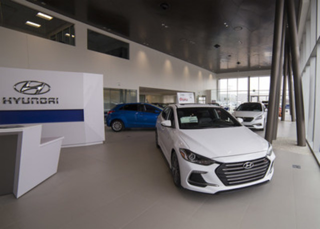 South Trail Hyundai, a new dealer within the Hyundai network, has proudly opened its doors to customers in Calgary. (CNW Group/Hyundai Auto Canada Corp.)