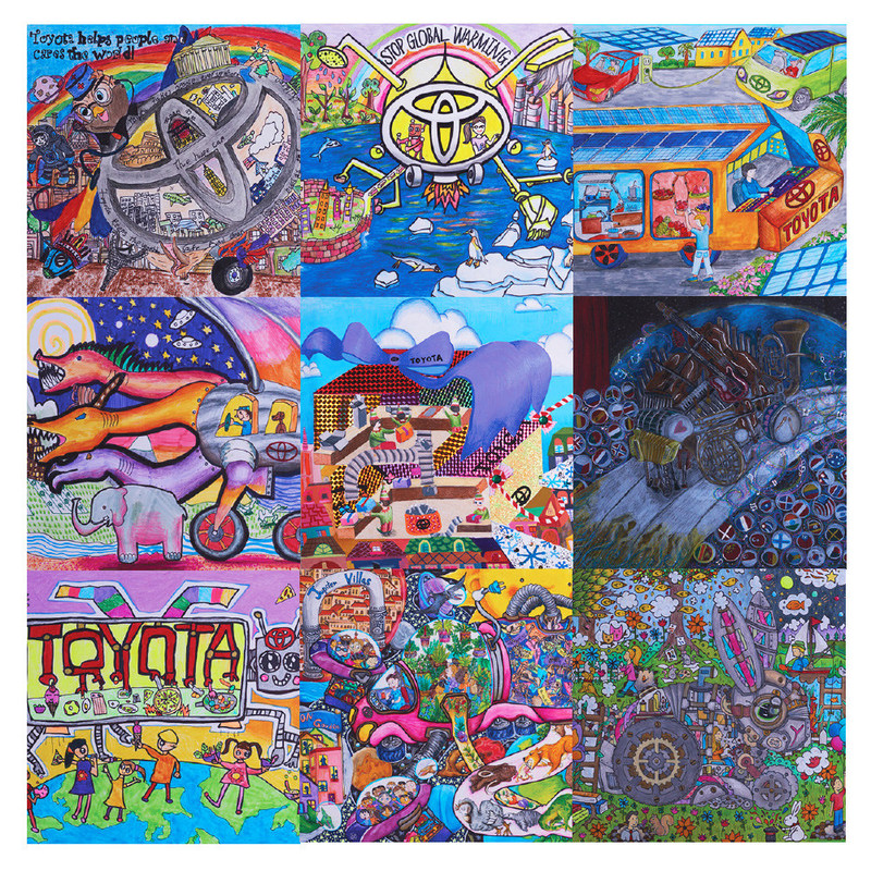 U.S. Winners of the 2017 Toyota Dream Car Art Contest