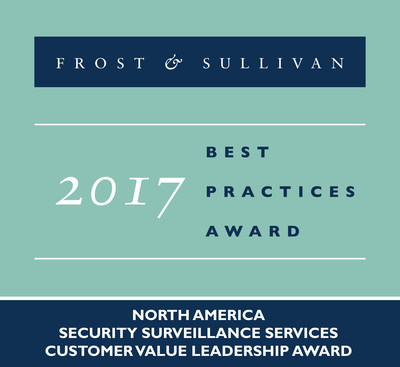 Costar Technologies Receives 2017 North American Security Surveillance Services Customer Value Leadership Award