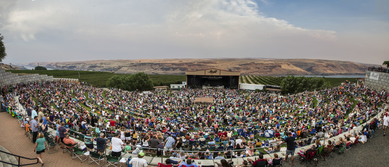 Maryhill Amphitheater. Photo by Larvick Media.