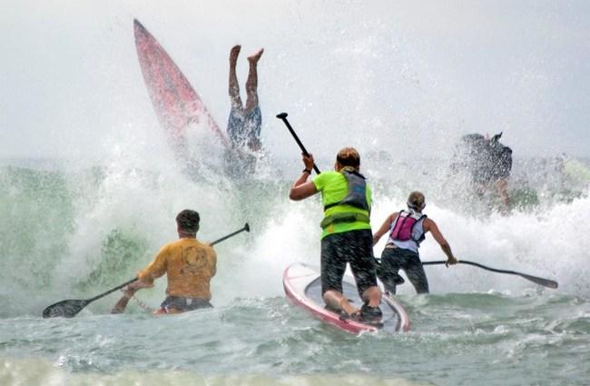 The Graveyard Race starting line 2016 - West Marine Carolina Cup - Wrightsville Beach, North Carolina - Courtesy of Matt Born, Wilmington Star-News