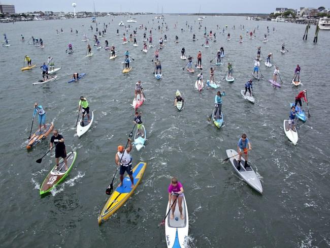 The Money Island 6.5-mile Race - West Marine Carolina Cup - Wrightsville Beach, North Carolina - Courtesy of Emmy Errante and Lumina News