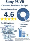 Strategy Analytics: PlayStation VR Customer Sentiment Analysis Shows Device Delights Consumers