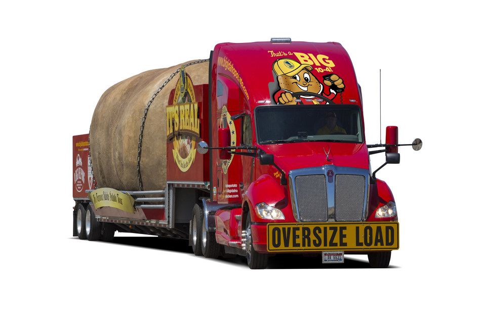 BACK BY POPULAR DEMAND, THE BIG IDAHO(R) POTATO TRUCK HITS THE ROAD FOR ITS 2017 TOUR!