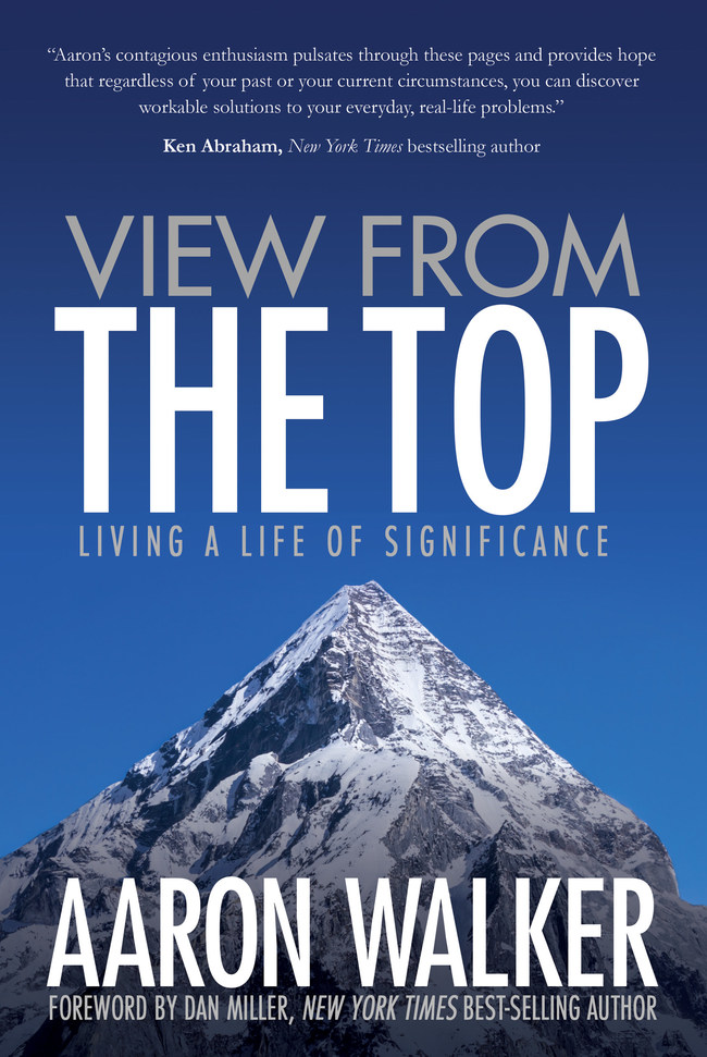 Aaron Walker's book, View From the Top