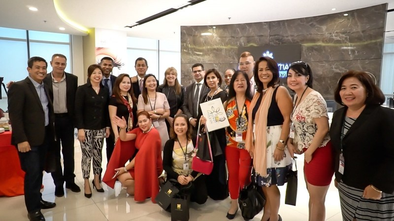 The Pioneers at the Oud Essentials office in Kuala Lumpur, Malaysia. (PRNewsFoto/Oud Essentials)