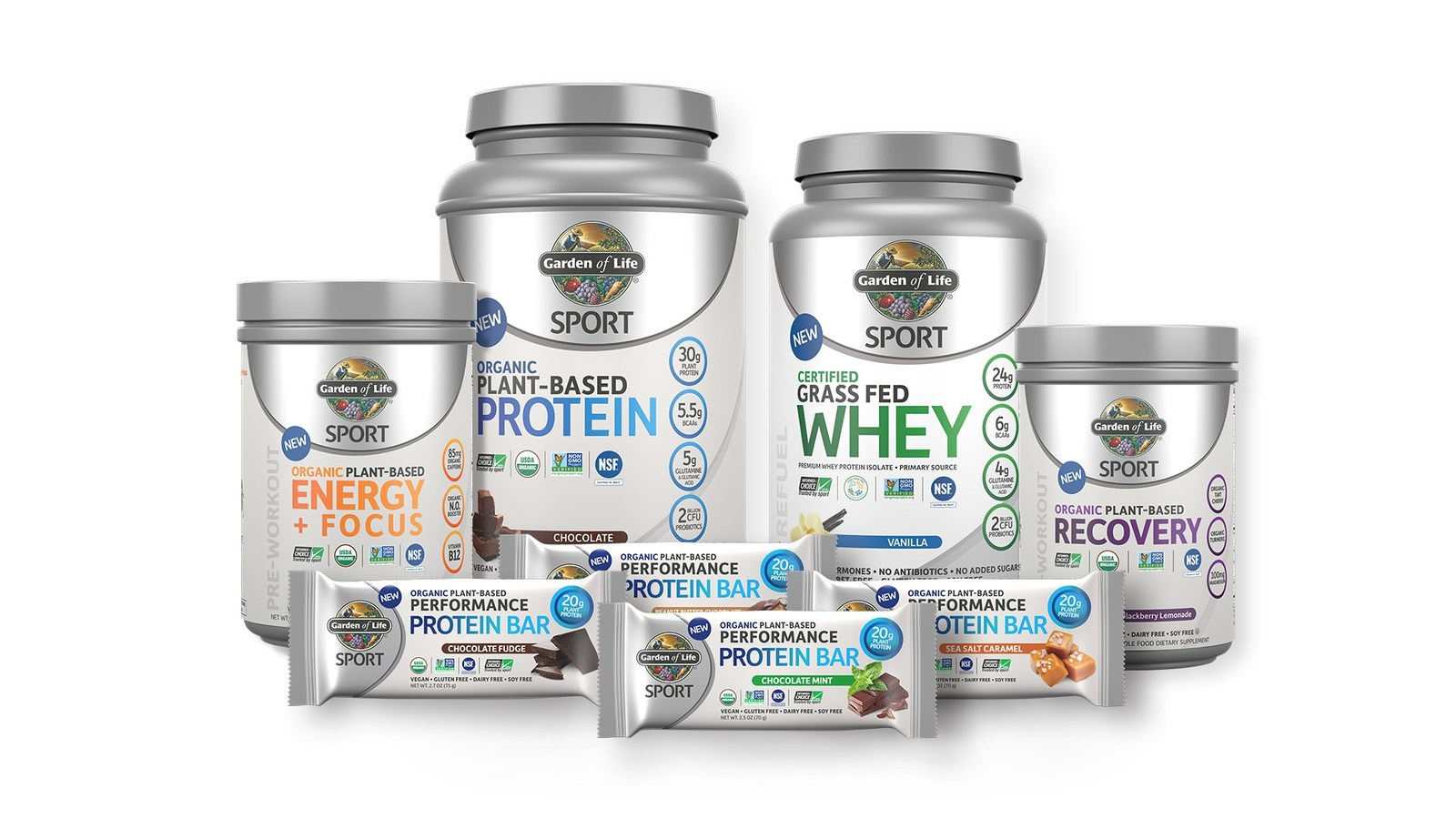 Garden of life enters sports nutrition arena with launch Garden of life sport plant based protein