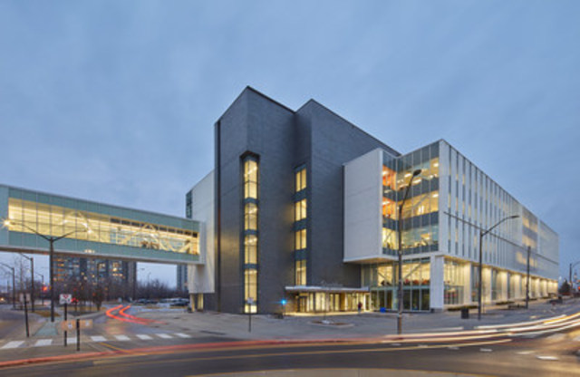 Exterior view of Hazel McCallion Campus expansion. (CNW Group/Sheridan College)