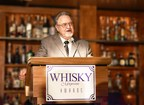 Michter's Willie Pratt delivers his Hall of Fame acceptance speech at the Whisky Magazine Awards.
