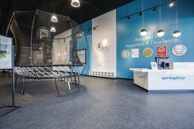 Springfree Trampoline opens new retail store in Allen, Texas. (CNW Group/SpringFree Trampoline)