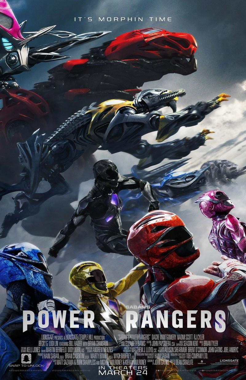 Power Rangers Movie - final poster