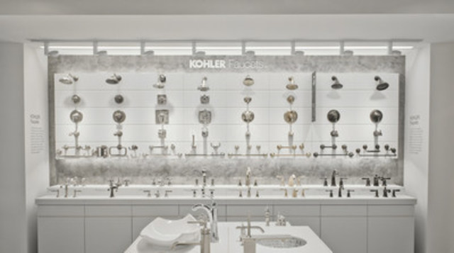 "First ""KOHLER Signature Store""  in Canada to Open in Vancouver (CNW Group/Kohler Co.)"
