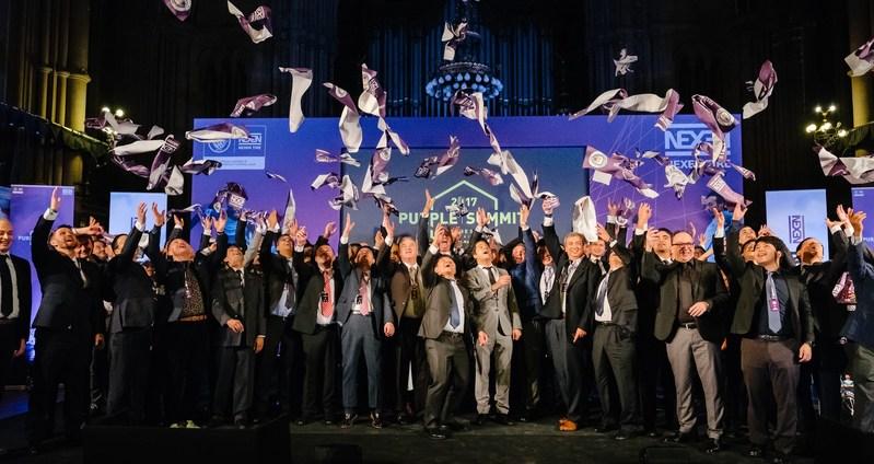 Nexen Tire organiza la Cumbre Purpura 2017 en Manchester para socios internacionales