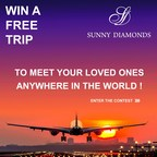 Win a free trip (PRNewsFoto/Sunny Diamonds)