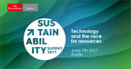 CIAO Group Announces The Economist Sustainability Summit 2017 on Technology And The Race For Resources in Austin, Texas