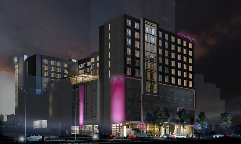 With an entrance on 14th Street, the 133-room AC Hotel Atlanta Midtown will feature guestrooms and suites with modern and sophisticated design elements, plush seating and multi-functional workspaces. The 155-room Moxy Atlanta Midtown, which guests will enter on 13th Street, will feature stylish, tech-enabled bedrooms with optional mobile check-in and check-out; keyless entry; motion sensor lighting; internet TV in-room; USB outlets; and furiously fast and free Wi-Fi for ultimate connectivity.