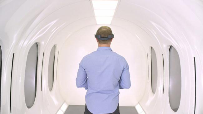 Hyperloop Capsule Interior