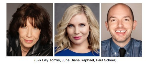 "Lily Tomlin joins June Diane Raphael, Paul Scheer and other comedians to benefit 'WAIT WAIT...DON'T KILL ME!"" Comedy Event to benefit VOICE FOR THE ANIMALS Foundation"