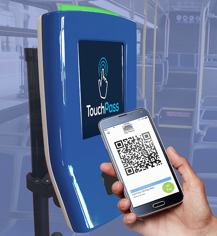 TouchPass Reader and Mobile App