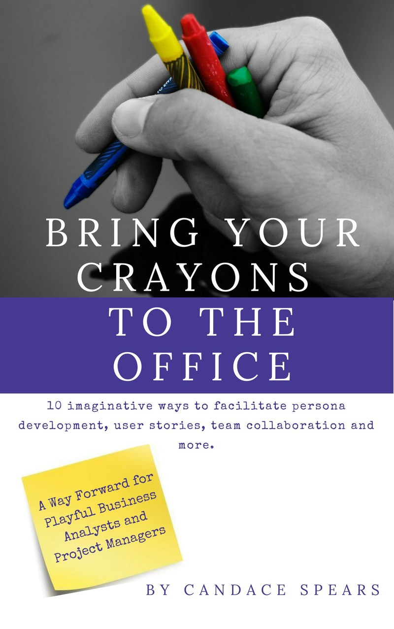 """Bring Your Crayons to the Office"" book cover"