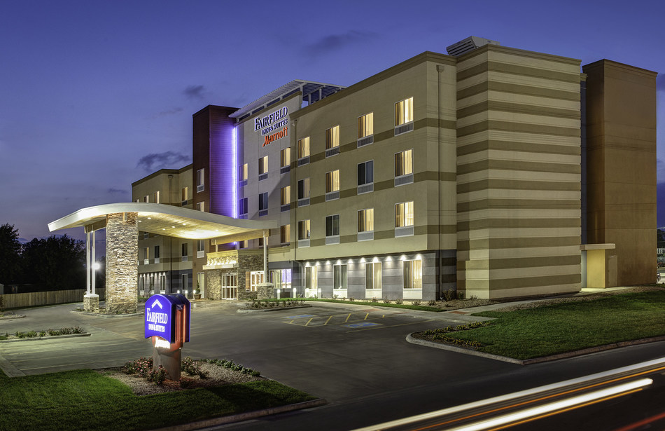 """The new 103-room Fairfield Inn & Suites by Marriott Richmond Ashland at 11625 Lakeridge Parkway is now open. Hotel amenities include an inviting living area in the lobby, signature """"smart"""" room decor, 24/7 Corner Market, indoor swimming pool, exercise room, lobby bar, valet laundry service, complimentary Wi-Fi, as well as 750 square feet of space to accommodate functions for up to 50 people."""