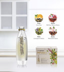 SodaStream introduces its new Infusions 'chilled brew' product line, which features single-use sachets to flavor sparkling water with invigorating herb and fruit blends.