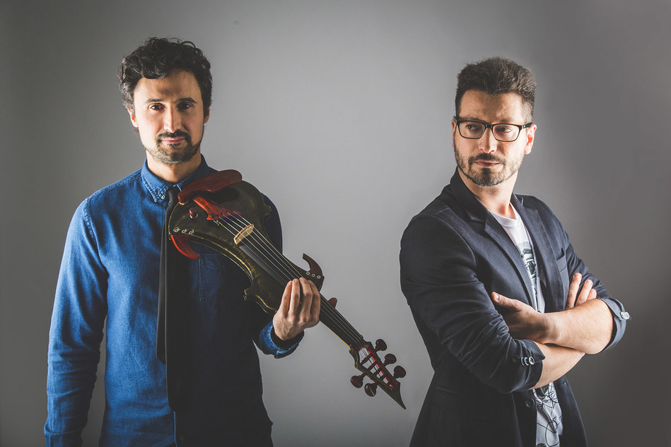 Armonite, the band by composer/keyboardist Paolo Fosso and violinist Jacopo Bigi are releasing their new album, And the Stars Above, this summer. Find out more at the band's official website, armonite.com (PRNewsFoto/merry-go-sound)