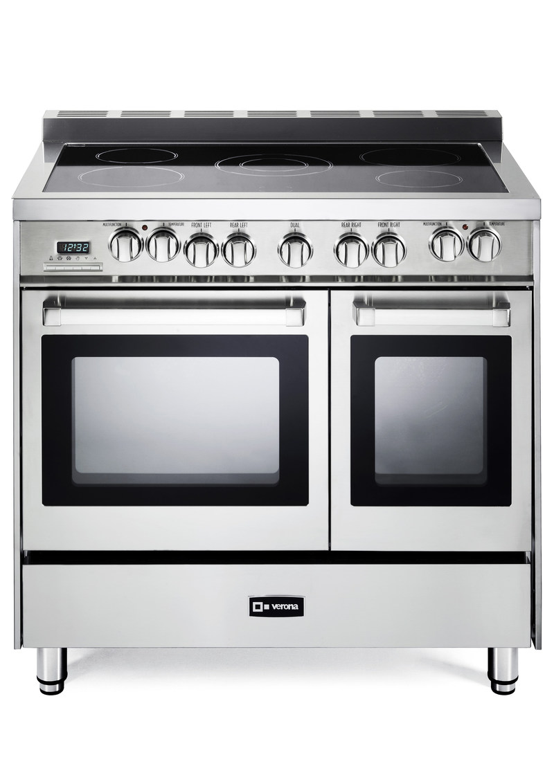 "Verona Appliances 36"" Double Oven Electric Range"