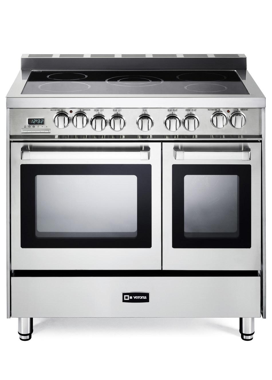 "Verona Appliances 36"" Double Oven Electric Range"